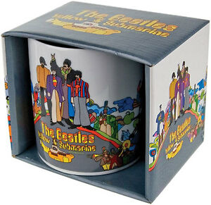 The-Beatles-Yellow-Submarine-Songtrack-Coffee-Tea-Mug-New-Official-In-Box