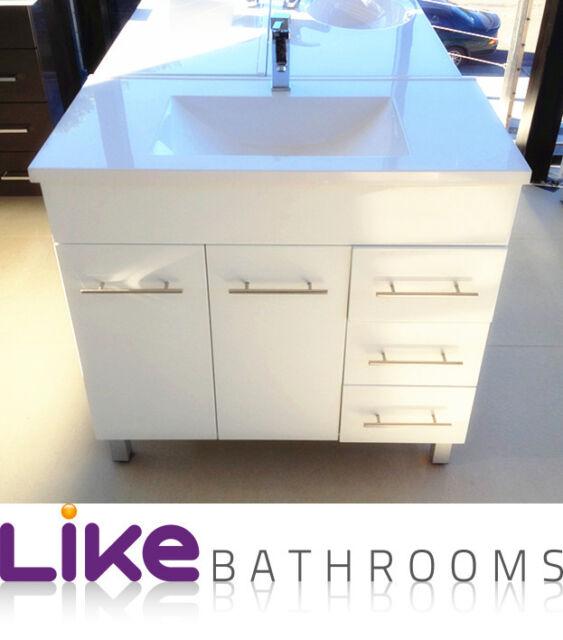 Polyurethane bathroom vanity unit 900mm (SE900/PT)