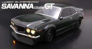 1/10 RC Car Body Shell MAZDA SAVANNA GT COUPE 190mm For Tamiya Chassis