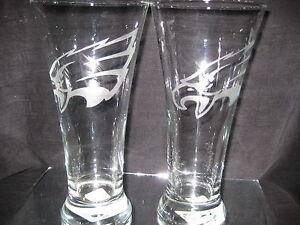 PHILADELPHIA-EAGLES-2-ETCHED-LOGO-PILSNER-GLASSES-20oz