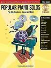 Popular Piano Solos: Pop Hits, Broadway, Movies and More! (First Grade) by Hal Leonard Corporation (Mixed media product, 2006)