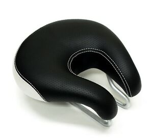 ISM-SPORT-Anatomic-ERGO-Hybrid-Noseless-Bike-Saddle-Bicycle-Seat-GEL-amp-FOAM-PADS