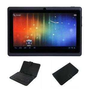 7-Capacitive-A13-Android-4-0-Tablet-4GB-Black-Micro-USB-Keyboard-Case-Bundle