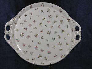 MZ Austria Porcelain Serving Tray with Handle