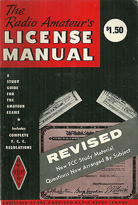 Radio Amateur's License Manual Vintage Book 1976