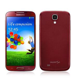 Détails sur Nouveau Samsung Galaxy S4 GT-I9505 - 16 Go-Aurore Rouge (Débloqué) Smartphone- afficher le titre d'origine