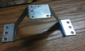 "Motor Mounting Bracket, H: 2.16"", Foot Mount all Brands of Unit Bearing Motors"