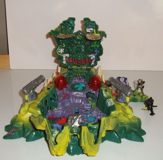 BOITE MIGHTY MAX STORMS DRAGON ISLAND PLAYSET BLUEBIRD 1993 (30x21cm)