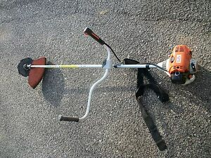 stihl weedeater fs 90. stihl-fs90-industrial-weed-eater-with-shoulder-strap- stihl weedeater fs 90
