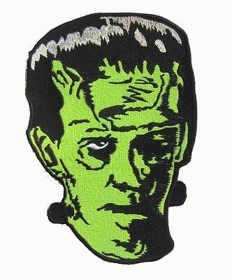 "Okutani 3"" Frankenstein Patch Iron-on Patches Jacket Punk Tattoo Rockabilly"