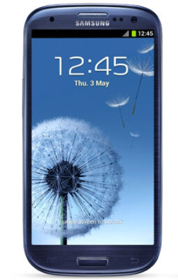 Samsung Galaxy S3 i9300 Smartphone 8 Megapixel Kamera Handy Android 4.0 Blau
