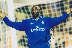 Chelsea-F-C-Jimmy-Floyd-Hasselbaink-Hand-Signed-Photo-12x8