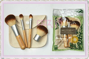 New-EcoTools-BAMBOO-Makeup-Brush-Set-5pcs-Make-Up-Brushes-4-1-Bag