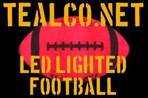 NEW-TealCo-LED-Light-Up-Football-night-nite-glow-in-the-dark-lighted-foot-ball