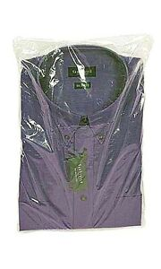 200-Qty-12-x15-Clear-Plastic-Dress-Shirt-Bags-with-2-Flap