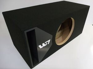 Jl audio 12w7 ported sub box special edition black port for L ported box calculator