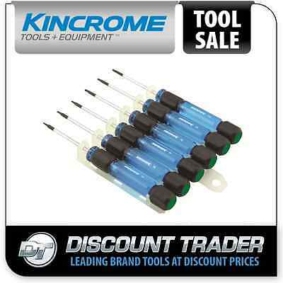 Kincrome Precision TORX Screwdriver Set 6 Piece - K5011