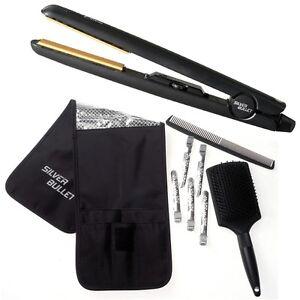 Silver-Bullet-Black-Crystal-Hair-Straightener-Free-Nexxus-Anti-Frizz-Serum