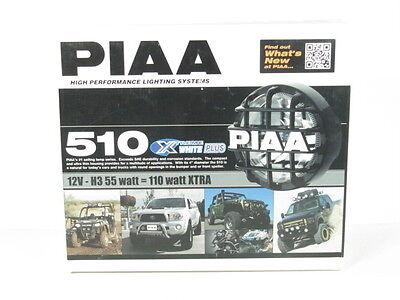 PIAA 510 Series SMR Xtreme White Plus Halogen Driving Lamp Kit Fog Lights 5190