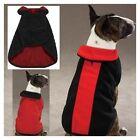 Zack & Zoey Fleece Jacket Coat Black xxlarge Dog Puppy Apparel (Zack and Zoey)