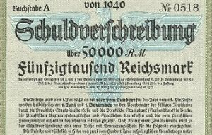 Nazi-BLUE-EAGLE-WAR-BOND-Rare-50-000-Reichsmark
