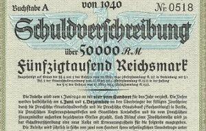 Nazi-BLUE-EAGLE-WAR-BOND-Rare-50-000-Reichsmark