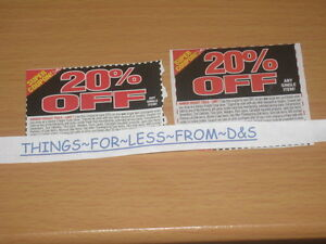 2-HARBOR-FREIGHT-COUPONS-20-off-any-1-item-May-use-at-HOME-DEPOT-amp-LOWE-039-S