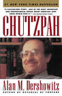 Chutzpah by Alan M. Dershowitz (Paperback, 1992)