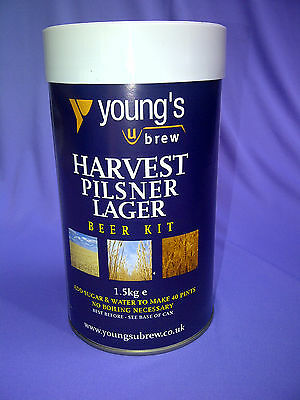 Youngs Harvest Beer Kits - Choice of 7!!!!