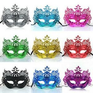 Venetian-Party-Masquerade-Glitter-fancy-dress-mask-8-color-Man-Woman-opera-style