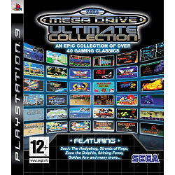 SEGA Mega Drive Ultimate Collection PS3 PlayStation 3 Video Game Mint Condition