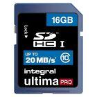 Integral 16 GB Class 10 - SDHC Card - (INSDH16G10V1)