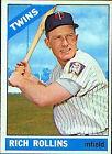 1966 Topps Rich Rollins Minnesota Twins #473 Baseball Card