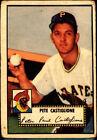1952 Topps Pete Castiglione #260 Baseball Card