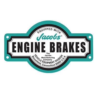 JACOBS ENGINE BRAKES VINTAGE STICKER