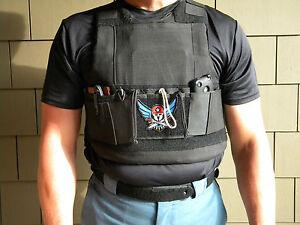NEW Police Ballistic Vest Pocket ! Perfect for under uniforms!