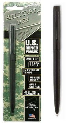 Fisher M4B Military Cap-o-Matic Pen - Matte Black
