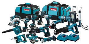 Makita-LXT1500-18V-15-Tool-LXT-Lithium-Ion-Cordless-Power-Combo-Kit-18-Volt