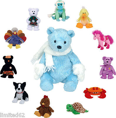 TY BBOM - Beanie Baby of the Month 2006 Set of 12 Different Beanie Babies