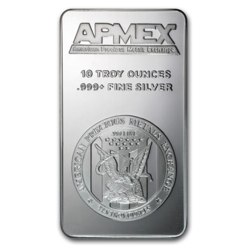 10 oz APMEX Silver Bar