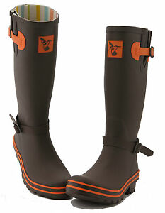 Ladies Wellies Winter Boots Rain Boots Designer Rubber Wellingtons ...