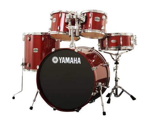 yamaha stage custom birch 5 piece acoustic drum set for sale online ebay. Black Bedroom Furniture Sets. Home Design Ideas