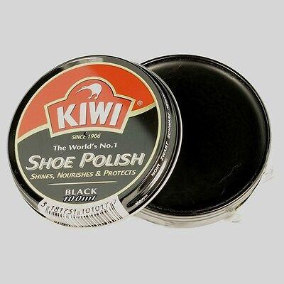 Kiwi Zapato polish/boot polish/leather polish/black/100ml gran líder del mercado del estaño