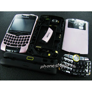 New-Original-Nextel-Blackberry-Curve-8350i-Complete-Full-Housing-Cover-Case-Pink