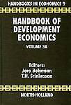 Handbook of Development Economics, Vol. 3A by