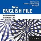 New English File Pre-Intermediate: Pre-intermediate level: Class Audio CDs by Christina Latham-Koenig, Clive Oxenden (CD-Audio, 2005)