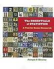 The Essentials of Statistics: A Tool for Social Research by Joseph F. Healey (Paperback, 2012)