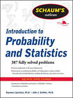 Schaum's Outline of Introduction to Probability and Statistics by Seymour Lipschutz, John J. Schiller (Paperback, 2011)
