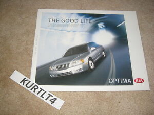 2003 kia optima lx se v6 sales brochure deluxe dealer. Black Bedroom Furniture Sets. Home Design Ideas