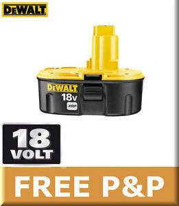 Genuine-DEWALT-18v-DE9503-2-6Ah-Ni-MH-Battery-For-Cordless-Drills-Jigsaws-Saws